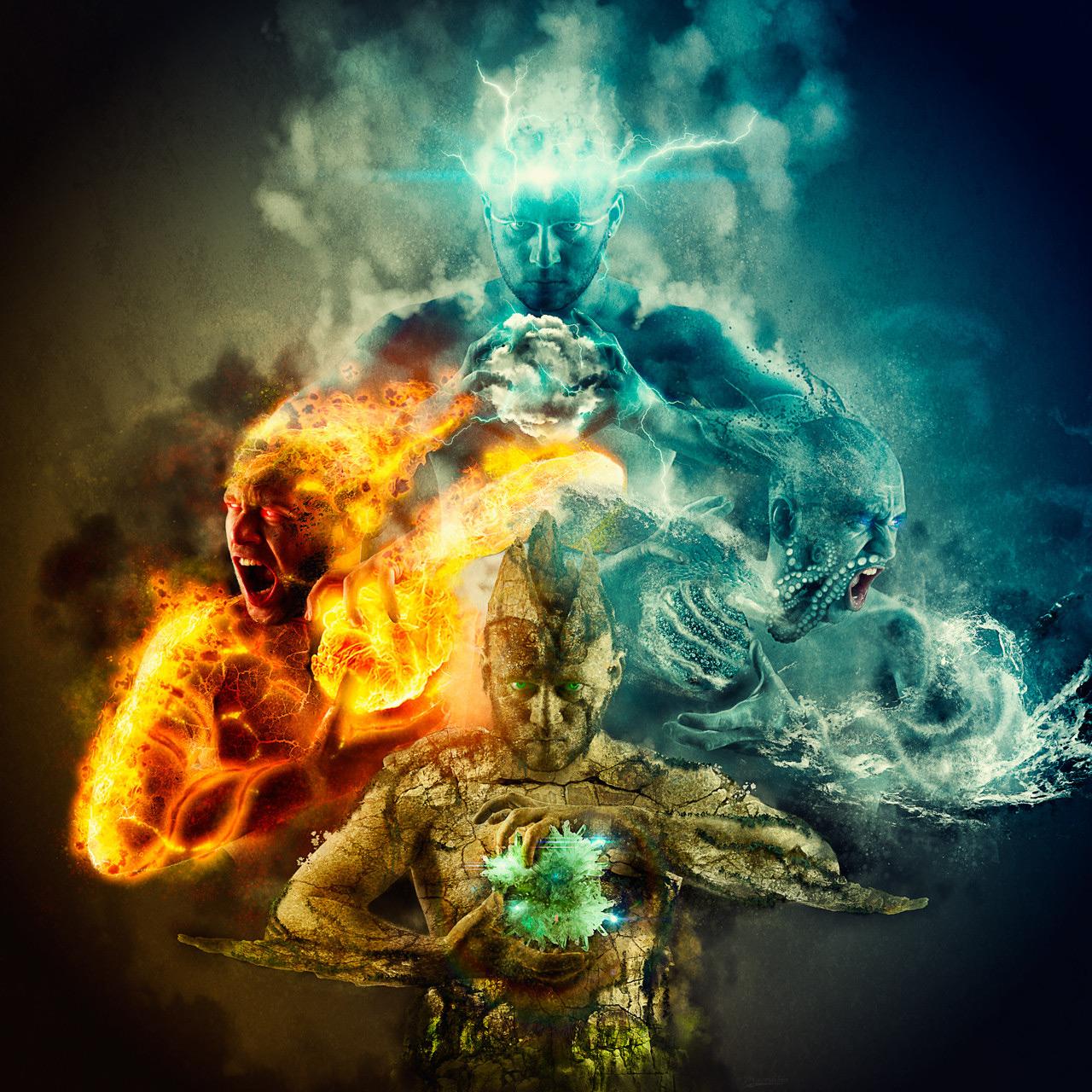 vier-elementen